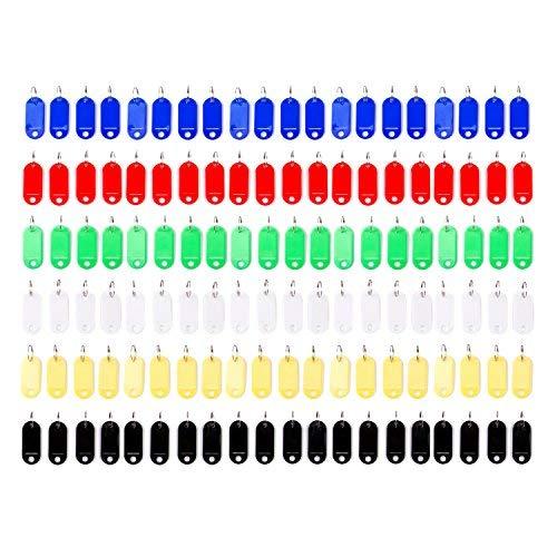 Vancool 120 unidades Llavero identificador plástico