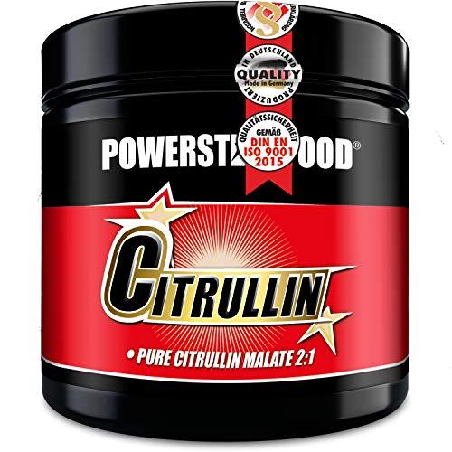 100% L-CITRULLIN-MALAT - PRE WORKOUT Aminosäure Pulver - extremer Pump bei unvergleichbarem Muskelgefühl - Dose 200g - Premiumqualität made in Germany
