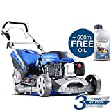 Hyundai HYM460SPE 4-Stroke Petrol Lawnmower Self Propelled Electric Push Button Start 46cm /18 inch Cutting width