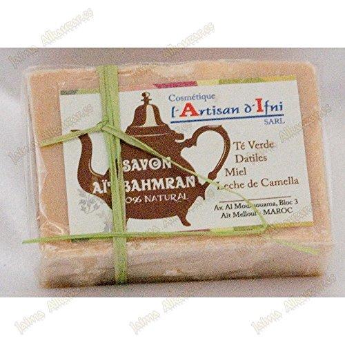 naturel-savon-bahmran-the-vert-dates-miel-lait-de-chameau