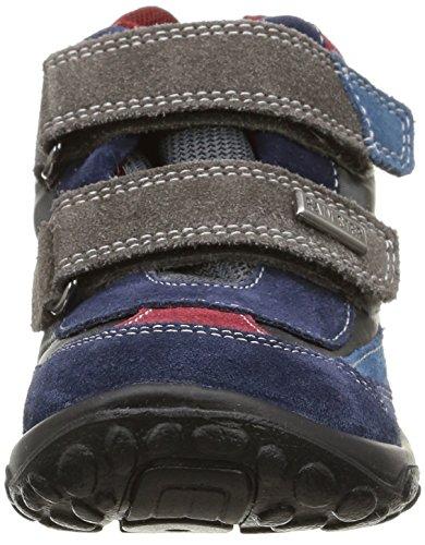 Naturino Giau, Chaussures de sports extérieurs garçon Multicolore (Navy/Avio/Granata/Antracite)