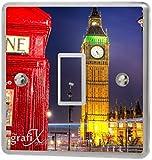 London Big Ben Light Switch Sticker Vinyl / Skin cover sw14