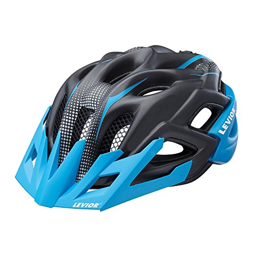 LEVIOR Status Jr. M blue black matt Fahrradhelm