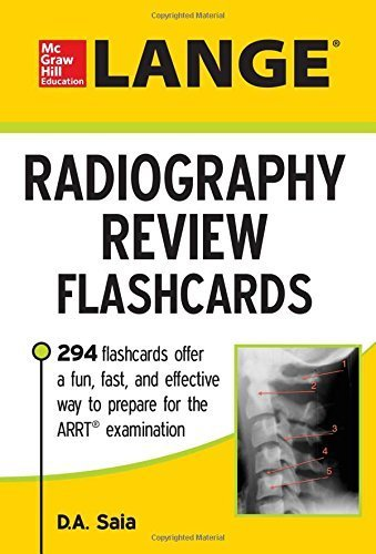 LANGE Radiography Review Flashcards Paperback February 12, 2015