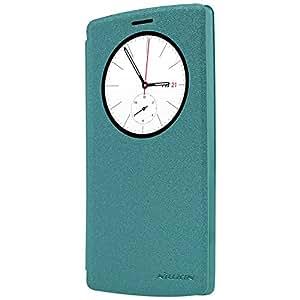 Nillkin Sparkle Housse étui coque cuir pour LG LG G4 Beat (G4S) Bleu (Retail Packaging)