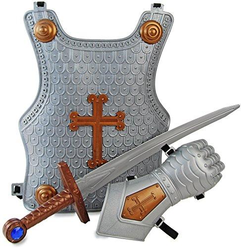 Königliches Ritter Rüstung Set 3 (Ritter Brustpanzer Kostüm)