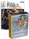 Poser 5 WIN / Carrara Studio 2 Upgrade MAC/WIN Bundle -