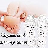 100% nuovo e di alta qualità. Suole magnetiche per fisioterapia, le pietre magnetiche si posizionano davanti al punto di agopuntura del corpo. Grazie a questa azione del campo di forza magnetica, si stimolano i punti di agopuntura dei piedi, ...