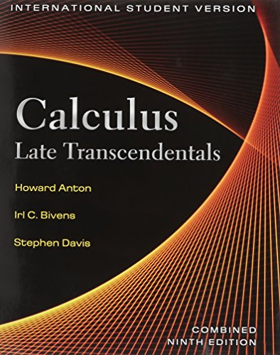 Calculus Late Transcendentals Combined (Wiley Plus Products)