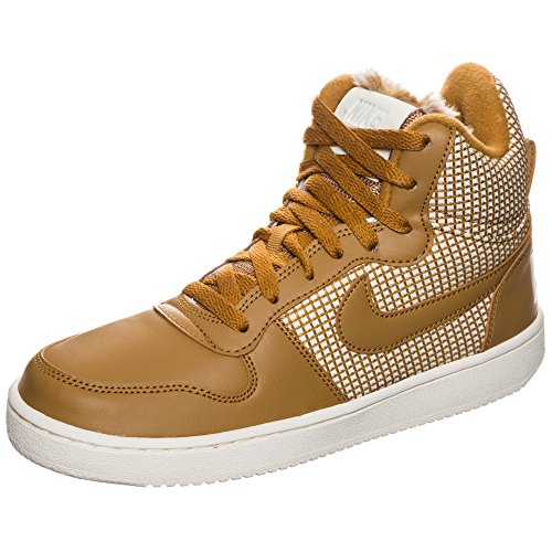 Nike Damen Court Borough Mid Se Hohe Sneaker Beige