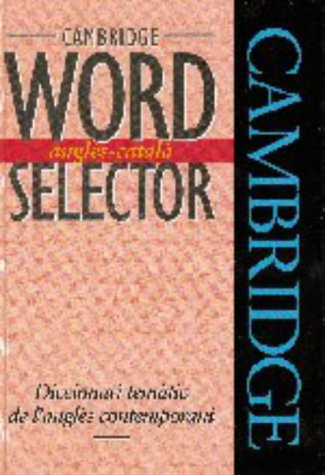 Cambridge Word Selector Anglès-Català por Michael McCarthy