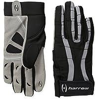 HARROW Rampart Lacrosse de las mujeres guante, medio, negro/acero