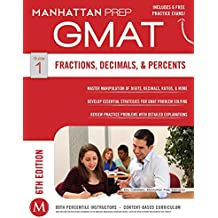 GMAT Fractions, Decimals, & Percents (Manhattan Prep GMAT Strategy Guides) (English Edition)