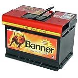Autobatterie 62AH Banner Power Bull ersetzt 55Ah 60Ah 63Ah