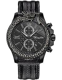 8d548280ed6a Thomas Sabo Reloj Analógico para Hombre de Cuarzo con Correa en Cuero  WA0266-213-