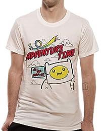 Adventure Time Men's Algebraic Short Sleeve T-Shirt
