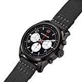 Montblanc Smartwatch Summit 2 DLC Steel black Nylon 42 mm
