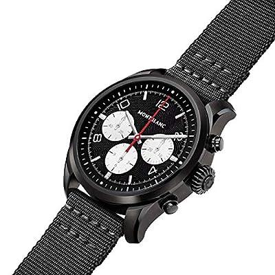 Montblanc Smartwatch Summit 2 DLC Steel black Nylon 42 mm