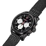 Montblanc Summit 2 Smartwatch 119560 Stahl Schwarz Nylon Schwarz
