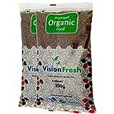 Vision Fresh Organic Ajwain (Carom Seed) - 400 Gram - Pack of 2 (200 Gram Each)