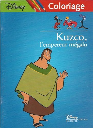 Free Kuzco, l'empereur mégalo. Coloriage N° 3 PDF Download   TeoDicun