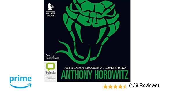 Book review  the Alex Rider series by Anthony Horowitz     The     Prezi