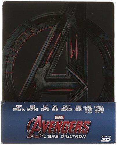 Avengers L'ère d'Ultron - Combo Blu-Ray/Blu-Ray 3D Steelbook édition limitée Fnac (+ livret inédit)