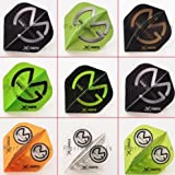 5 x gemischt Sets of Michael Van Gerwen Dart Flights Standard Form