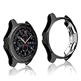 ZHXMALL Coque Samsung Galaxy Watch 46mm, Protection écran Watch [Couverture...