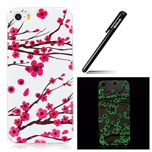 btduck-coque-de-protection-housse-tui-pour-apple-iphone-5-5s-se-flip-case-cover-lumineux-prune-fleur