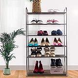 Schuhregal_mehrschichtig Rostfreier Stahl Platz Sparen Einfach Modern Schuhschrank Foyer, Flur, Schlafsaal, Badezimmer Kleiner Speicherorganisator