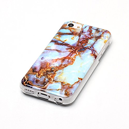 Lotuslnn iPhone 5/5s/SE Conque- Anti-Scratch Protection Etui Pour iPhone 5/5s/SE TPU Silicone Soft Cover iPhone 5/5s/SE( Coque, Stylus Pen ,Screen Protector )-Multicolored Seaweed