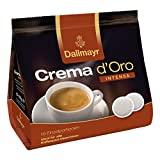 Dallmayr Crema dOro Intensa Kaffeepads, für alle Pad Maschinen, Röstkaffee, 16 Pads, á 7 g