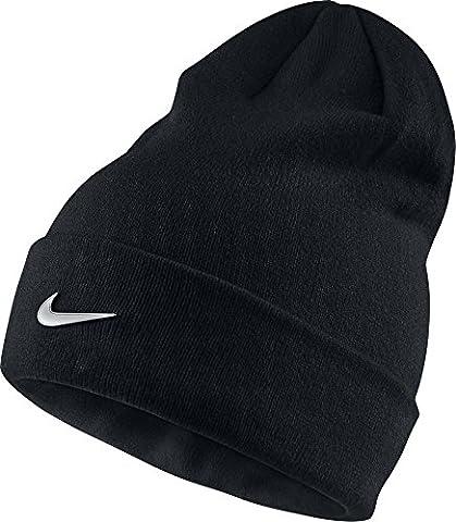 Nike - Y NK BEANIE METAL SWOOSH - Casquette - Noir - One size - Unisex