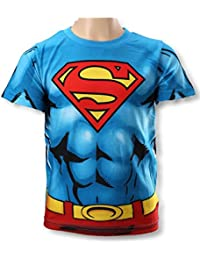 Superman Boys New Batman and Short Sleeves T Shirt Age 3 Years to 8 Years (961-830)