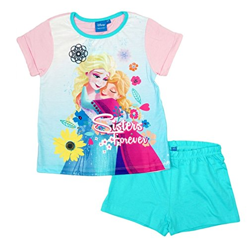 Disney Frozen 'Sisters Forever' Short 100% Cotton Pyjama Set