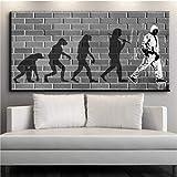 XWArtpic Leinwand Wandkunst Bilder Wohnkultur Wohnzimmer