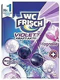 WC Frisch Kraft-Aktiv Violettspüler Magnolie, 10er Pack (10 x 50 g)