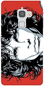The Racoon Grip Jim Morrison hard plastic printed back case / cover for Letv Le Max