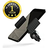 Intrudo Clip AC Vent Car Mobile Holder Car Compatible With Xiaomi, Lenovo, Apple, Samsung, Sony, Oppo, Gionee, Vivo Smartphones (One Year Warranty)