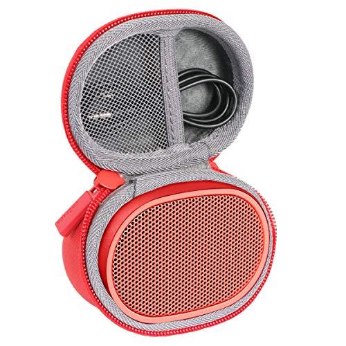 Étui de Voyage Rigide Housse Cas pour Sony SRS-XB01 Enceinte Portable par co2CREA (Rouge)