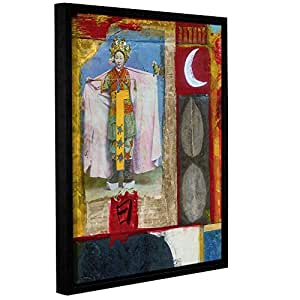 """Elana Ray's Chinese Moon Queen Gallery Wrapped Floater Framed Canvas, 18 x 24"""""""