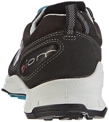Ecco Ecco Biom Trail Fl Men's, Chaussures de fitness outdoor homme Noir - Schwarz (BLACK/BLACK/PAGODA BLUE)