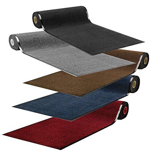 Fußmatte Sauberlaufmatte Spectral Meterware | Schmutzfangmatte in Wunschlänge | 90 und 120 cm...