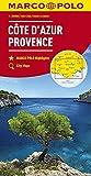 MARCO POLO Karte Côte d'Azur, Provence 1:200 000 (MARCO POLO Karten 1:200.000) - Collectif