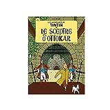 Poster Moulinsart Album de Tintin: Le sceptre d'Ottokar 22070 (70x50cm)...