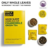 #10: Onlyleaf Chamomile Green Tea, 52 Tea Bags with 2 Free Exotic Samples