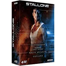Stallone - Cliffhanger + Rambo + Haute sécurité + Copland