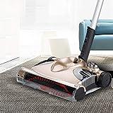 OR&DK Elektrisch Besen Bodenwischer Hand Push Cleaner Akku Home Abwischen der Maschine Geeignet für Harte böden-golden