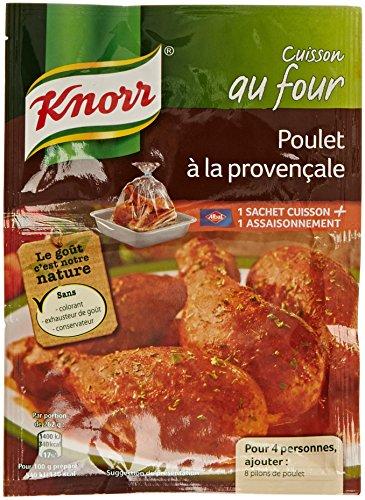 Knorr Sachet Cuisson Poulet à La Provençale 30g - Lot de 5